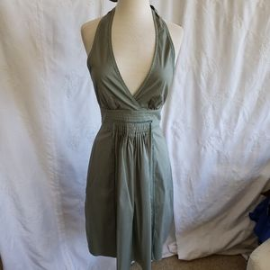 BCBGMAXAZARIA halter dress